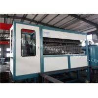 Quality 30 Egg Tray Forming Machine , Paper Pulp Moulding Machine Touch Screen for sale