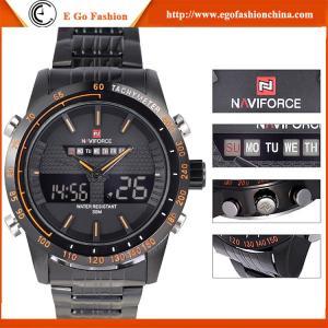 Quality NAVIFORCE Watch Sports Watch for Climbing Biking Big Dial Men's Watch Quartz Watch Steel for sale