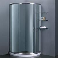 Quality Round quadrant double sliding door shower enclosure with 1900 to 2000mm width for sale