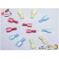Quality Nylon Screw Fully Insulated Wire Connectors Male and Female Electric Terminal for sale
