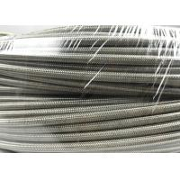 Anti - Static Smooth bore Flexible PTFE Lined Hose Used On Mechanical Hydraulic System