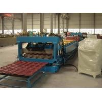 Quality Full Automatic Control Villa Metal Roof Glazed Tile Roll Forming Machine Color Steel Glazed Tile Cold Forming Machine for sale
