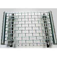 Buy Sturdy Structure Crimped Stainless Steel Woven Wire Mesh for Quarry Screen at wholesale prices