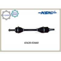 Buy Front Right Automotive Shaft drive Axle 43420-02660 With Impact Structure at wholesale prices