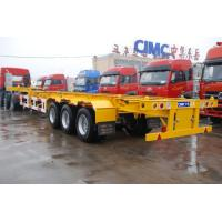 Quality trailer truck 40 tons semi trailer bogie container - CIMC VEHICLE for sale