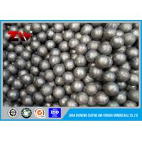 Quality Gold mining grinding Cast Iron Balls , Sag Mill Grinding Ball HRC 60-68 for sale