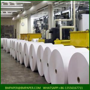 China art card paper manufacturer c2s gloss art paper translucent art paper on sale