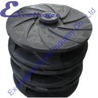 Buy cheap Rubber Lined Industrial Corrosion Resistant Hydraulic Slurry Pump Impeller from wholesalers