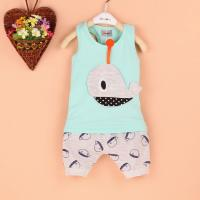 Quality (0-4 Years)Whale Cotton Vest baby Clothes Set for sale