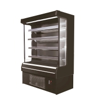 Quality TEL Approved Supermarket Open Chillers For Fruit Vegetable Dairy Beverages for sale