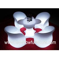 Quality Chargeable LED Glow Furniture , led tables and chairs with Remote Controller for Bar for sale