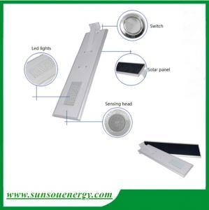 Quality Led solar street lights 20w, solar garden light, integrated solar street light with sensor for cheap sale for sale
