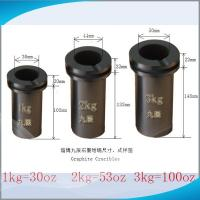 Quality JC High Purity Graphite Crucibles for Melting Gold with 10 pcs minimum order for sale