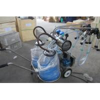 Quality Double Bucket Mobile Milking Machine for Cow (Vacuum Pump-Type) for sale