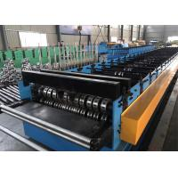 Buy cheap Metal Deck Floor With Ribs Roll Forming Equipment PLC Control With Touch Screen from wholesalers