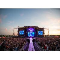 Buy cheap SMD HD P4.8 outdoor rental led display/outdoor led screen for stage/ led video from wholesalers