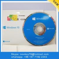 Quality Genuine Original Microsoft Windows 10 Home OEM With DVD Win 10 Operating System for sale