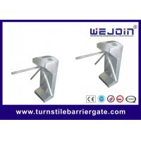 Quality Electronic Tripod Access Control Turnstile Gate Swipe RFID Card Both Way Rotating for sale