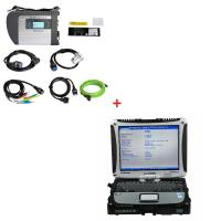 Quality CF19 I5 CPU 4G RAM WIFI MB Star SD C4 Mercedes Benz Diagnostic Tool Plus Panasonic for sale