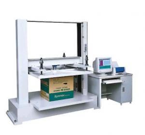 China 850kg Box Compression Tester / Paper Compressive Strength Testing Machine on sale