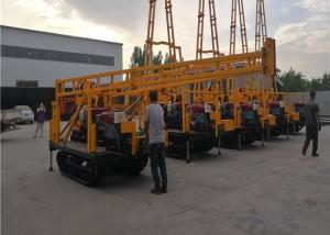 China 15kw Hydraulic Mine And Spt Test Crawler Drilling Machine With Drill Tower on sale