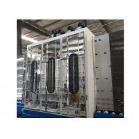 24KW Automated Glass Washer And Dryer Max Process Glass Height 2500*3000mm
