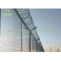 Quality PVC Coated 4.0mm Wire Welded Mesh Fence Waterproof With SHS 60 × 60mm Post for sale