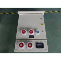 Buy cheap Metal box with industrial power socket outlet from wholesalers