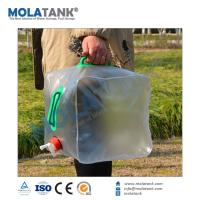 China Mola Tank Customized Plastic Foldable Water Bottle Small Wholesale Plastic Containers on sale