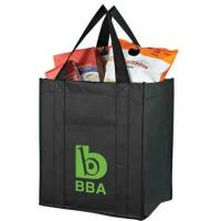 Quality Recyclable biodegradable green / blue Non-woven Shopping Bag for supermarket for sale