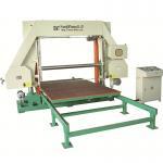 Quality Durable CNC Horizontal PU Foam Cutting Machine Automatic Foam Sheets Cutter for sale