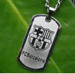 Fans Steel Necklace