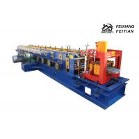 Quality C / U / Z Purlin Roll Forming Machine PLC Control For Steel Structure for sale