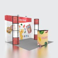 Quality Reusable Portable Fabric Pop Up Display Stands Fairing For Trade Show for sale