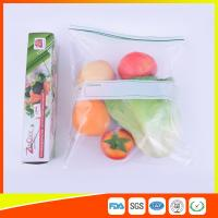 Quality Custom Freezer Zip Lock Bags Anti Moisture , Resealable Zipper Food Storage Bags for sale
