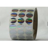 China Honeycomb Security Hologram Sticker , Tamper Evident Labels Eco - Friendly  Material on sale