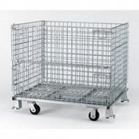 Quality Stainless Steel Logistic Cart Powder coating or galvanized Four wheel for Storage for sale
