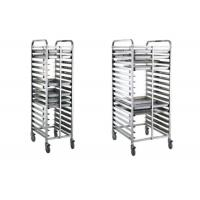 China 16/32 Tray Full-Size Bun / Sheet Pan Rack Assembled or Welding Type Stainless Steel Catering Equipment on sale