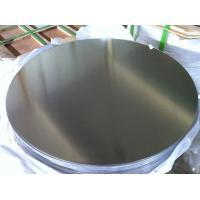 Buy cheap 0.5 mm to 5 mm Mill Finished non stick Aluminium Disc of 1050 1100 3003 O - H112 from wholesalers