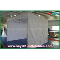 Quality Portable Custom Outdoor Silk Screen Printing Advertising Folding Steel Frame Tent for sale