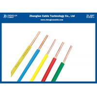 Quality Light Weight PVC Insulated Building Wire And Cable Single Solid Core Design for sale