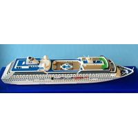 Quality Oceania Regatta Cruise Ship Toy Models Artworks Type With Complicated Mosaic for sale