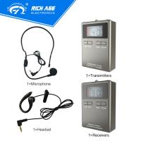 Quality 2018 Lowest price radio guide system for tour visiting with Europe legal frequency for sale