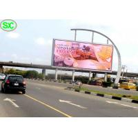 Quality Video Outdoor SMD LED Billboard p6 Advertising Usage with Power Saving for sale