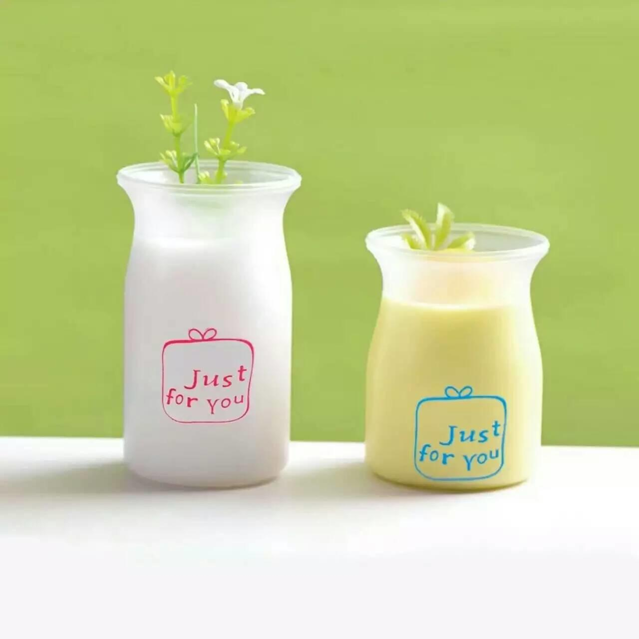 China Round Translucent Fruit  Pudding Mousse Cups PP Plastic Jar With Printing on sale