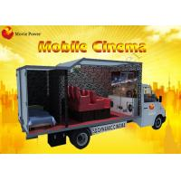 Quality Multiple Theme Fog Smell Fire 9D VR Cinema Truck With Electric System for sale