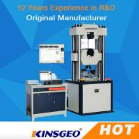 Buy cheap Electro Hydraulic Servo Function Universal Testing MachineS Computerized from Wholesalers