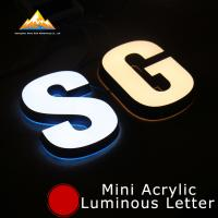 Quality Led Channel Letters Shop Signs Glow Sign Board Business Signage Solutions for sale