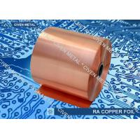 Buy Soft Rolled Annealed Copper Foil With Most Shiny Surface For Laminating at wholesale prices