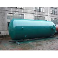 Quality Super Insulation Vertical Air Tanks , Dual - Axle Pressure Vessel Tanks for sale
